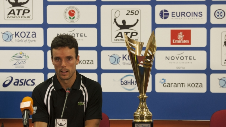 The first Garanti Koza Sofia Open champion Roberto Bautista Agut: I enjoy my tennis