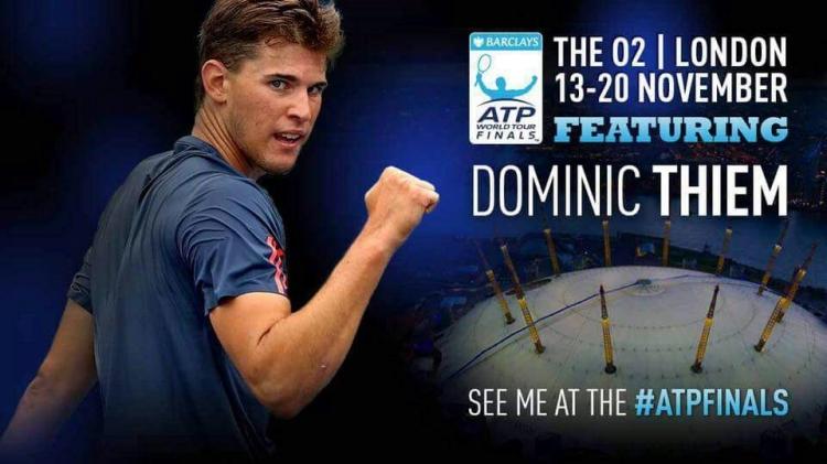 Thiem Completes 2016 Barclays ATP World Tour Finals Field