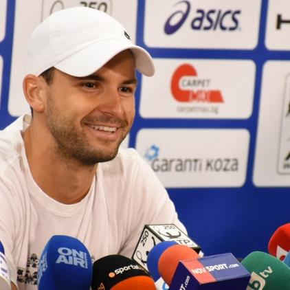 Grigor Dimitrov's Press conference
