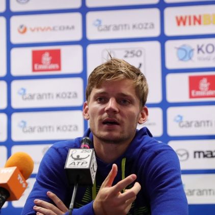 David Goffin's press conference