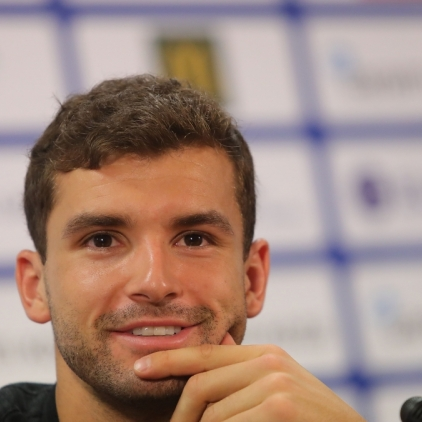 Grigor Dimitrov's press conference - 09.02