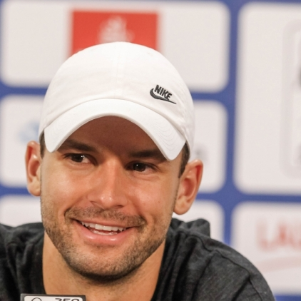 Grigor Dimitrov's press conference - 10.02