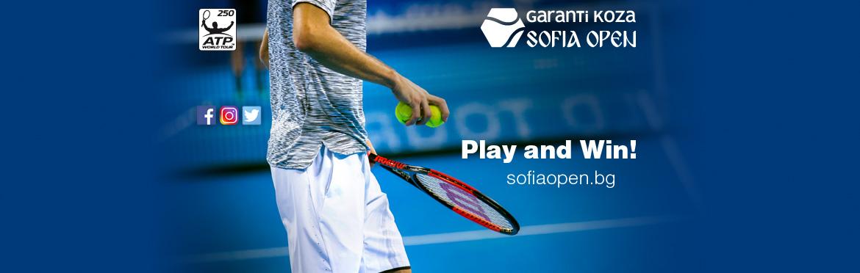 More than 100 prizes for the tennis fans at Garanti Koza Sofia Open