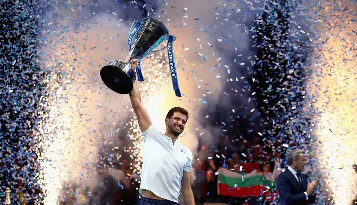 Grigor Dimitrov and 3 more Top 30 players will play in Sofia Open 2018