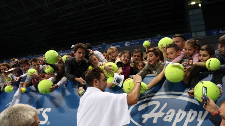 Stan Wawrinka in Instagram: Thank you for the support, Sofia Open