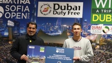 And the winner of Dubai Duty Free promotion is … Radi Kokudev