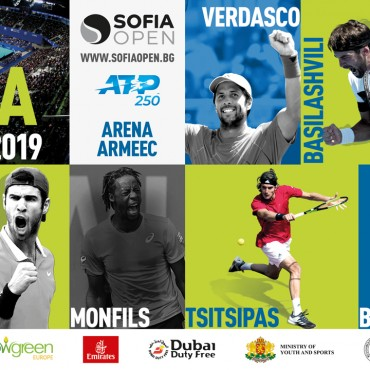 Sofia Open 2019 with a new key vision, part of the global ATP campaign
