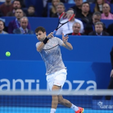 Dimitrov demolishes Basilashvili on the road to the final