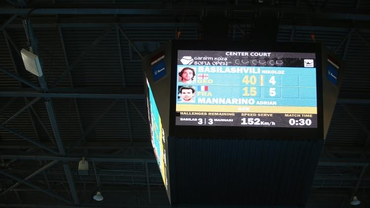 Garanti Koza Sofia Open мина на ново технологично ниво