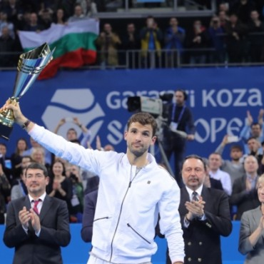 Grigor Dimitrov – the king of Sofia