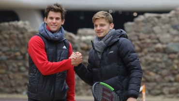 Thiem and Goffin – sent back in time