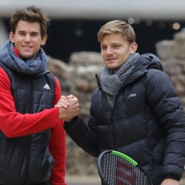 Тийм и Гофен играха тенис в антична София