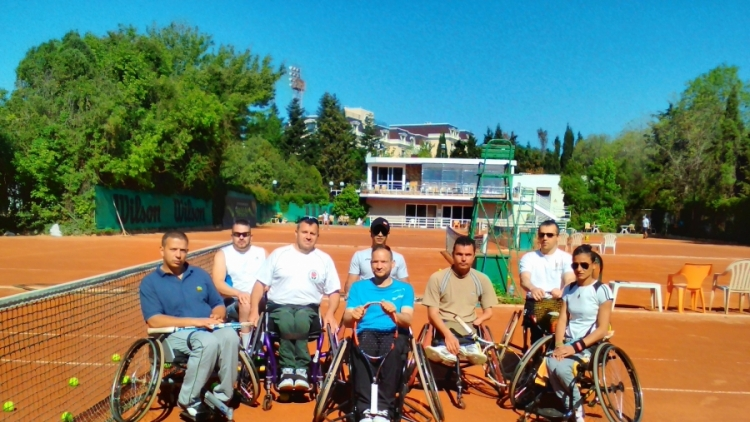 Националите по тенис на колички – с демонстрация на DIEMA XTRA Sofia Open