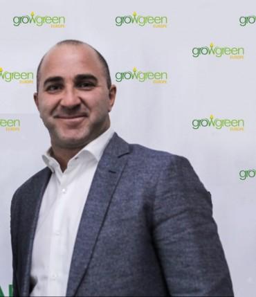 Димитър Благоев, който тренираше Лейтън Хюит, разви Grow Green в Европа и подкрепя Sofia Open