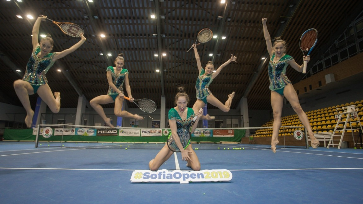The national rhythmic gymnastics team: Sofia Open, we are ready!
