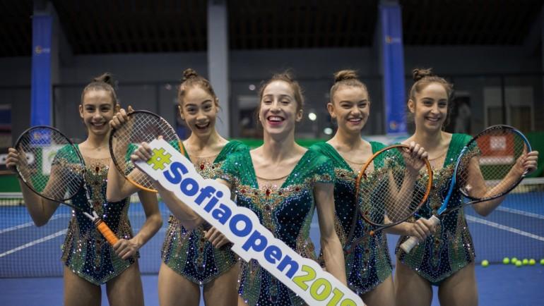 Диамантите от ансамбъла по художествена гимнастика са готови за SOFIA OPEN!