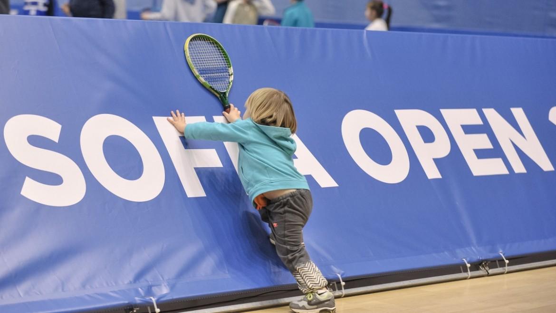 Детски рай на Sofia Open във вторник. Безплатен вход и много забавления очакват малките фенове на големия турнир
