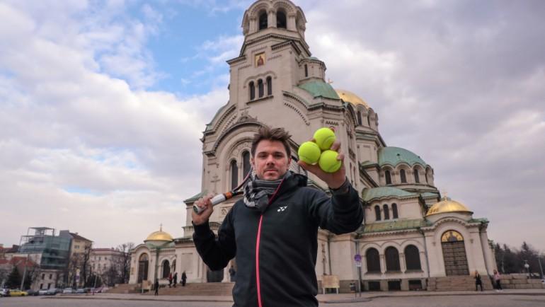 Голямата звезда Стан Вавринка се включва в жребия за Sofia Open 2019