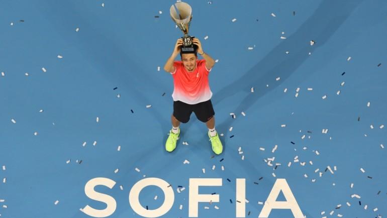 Данийл Медведев е шампионът на Sofia Open 2019