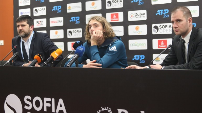 Циципас: Ще ми бъде приятно да се върна на Sofia Open