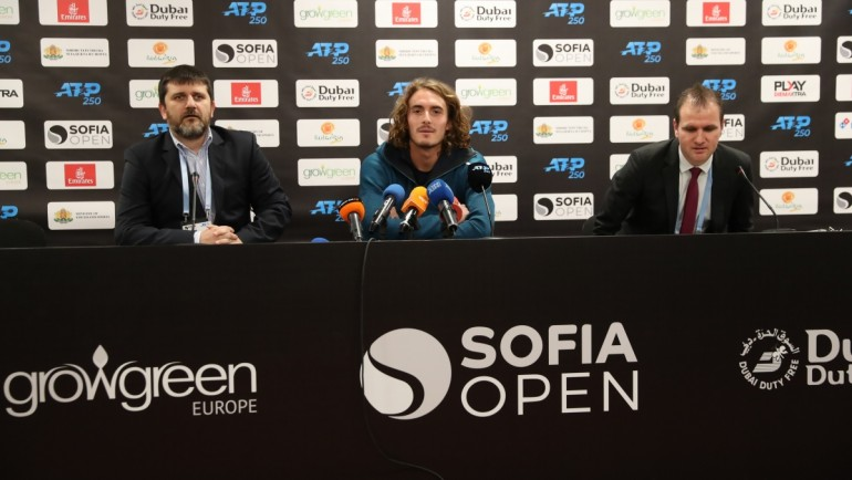 Confident Stefanos Tsitsipas: I came to play for the title