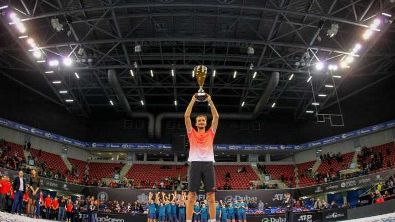 Medvedev is the 2019 Sofia Open champion