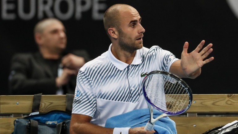 Marius Copil knocked Stan Wawrinka out in first round