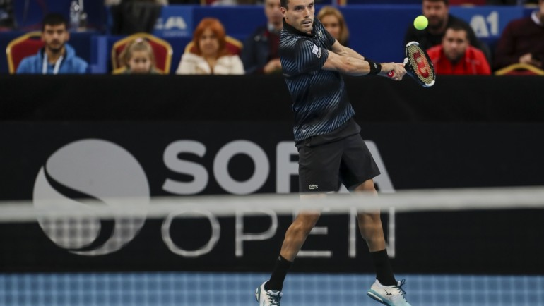 Баутиста Агут е първият четвъртфиналист на Sofia Open
