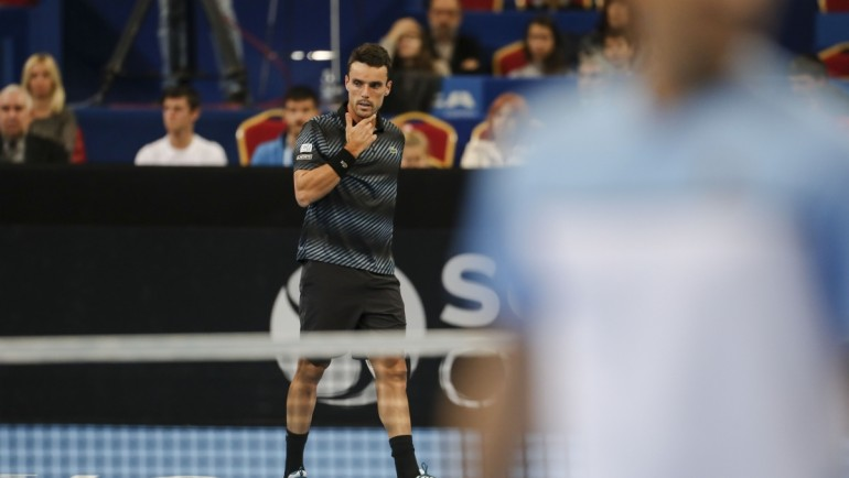 Bautista Agut sneaked into the quarters