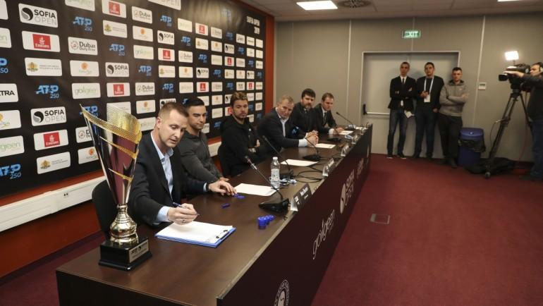 Sofia Open 2019, draw ceremony