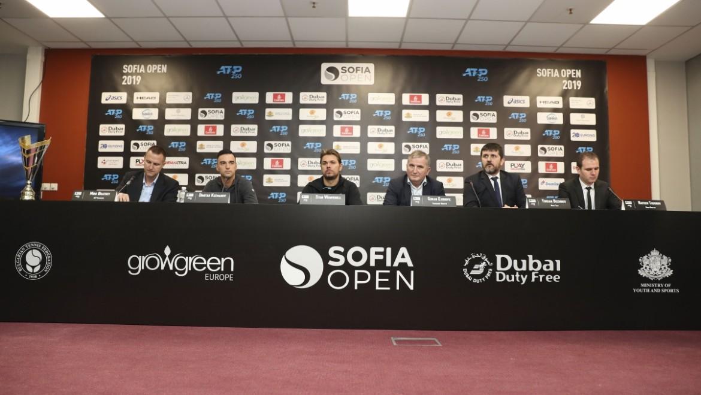 Теглене на жребия на Sofia Open 2019