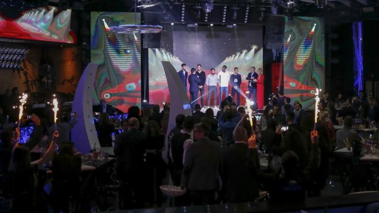 Бляскаво парти за звездите на Sofia Open