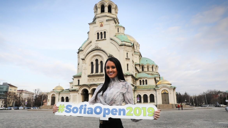 Посланикът на Sofia Open Рейчъл Стълмън вече се наслаждава на града и турнира