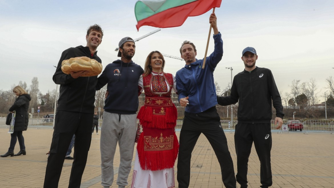 Robin Haase is the Dancing (tennis) star of Sofia Open