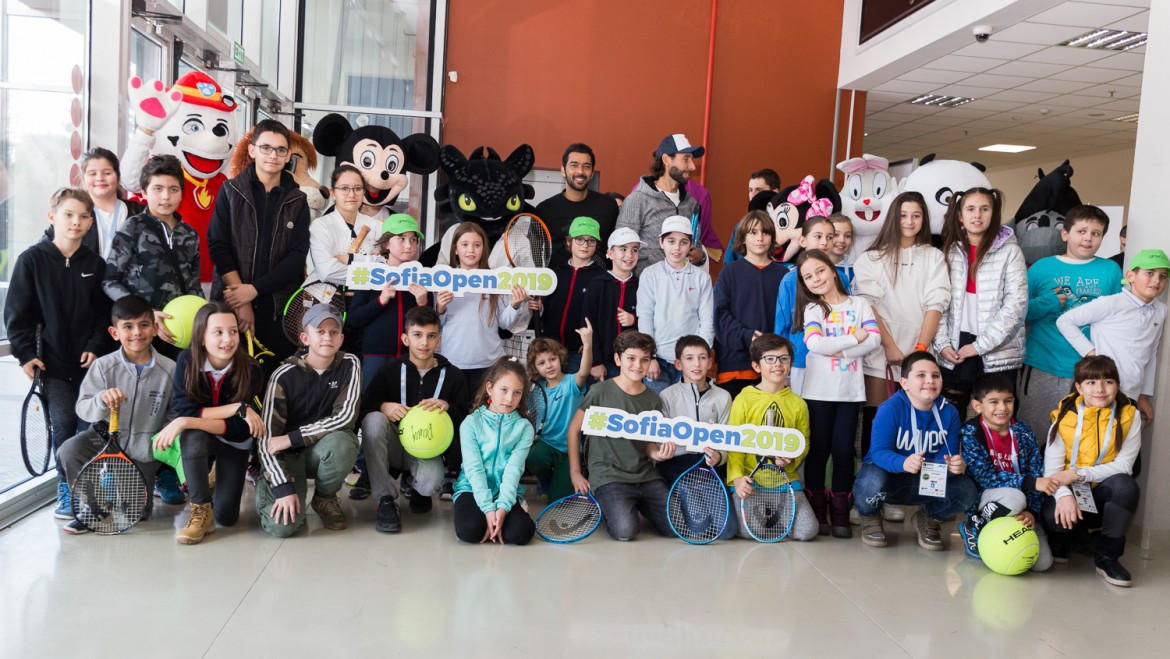 "Kids Day attracts the youngest tennis fans in ""Arena Armeec"""