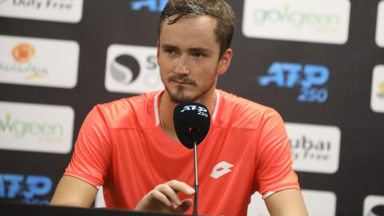 Daniil Medvedev: I want to be Top 10