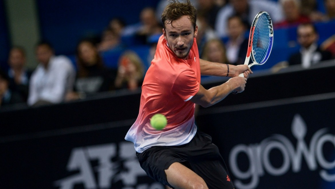 Medvedev eased into the final at Sofia Open 2019