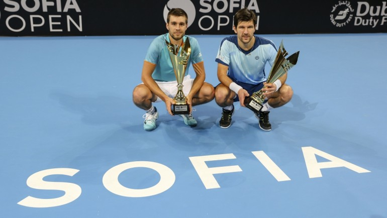 Mektic and Melzer triumph at Sofia Open 2019 Doubles