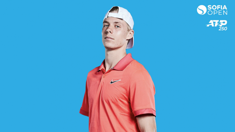 Shapovalov will make his Sofia Open debut on Tuesday