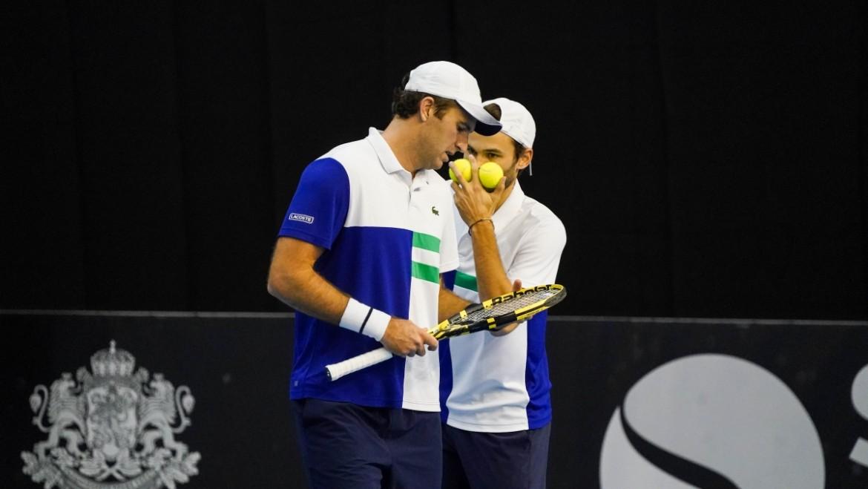 Jonathan Erlich & Andrei Vasilevski vs. Fabrice Martin & Hugo Nys