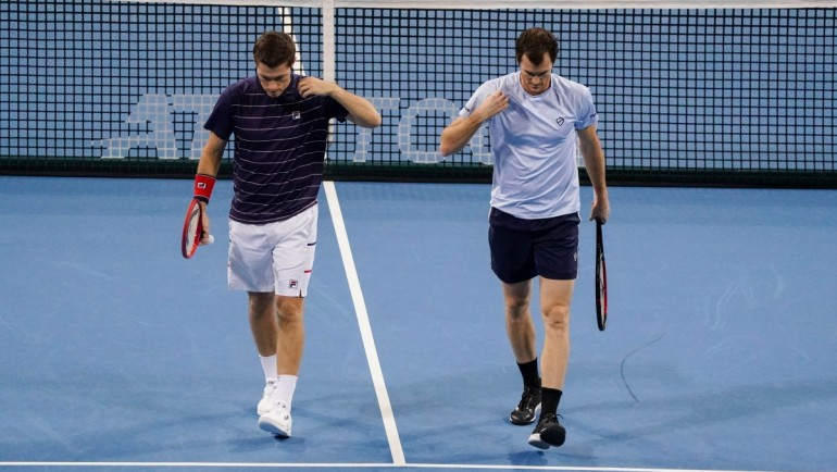 Jamie Murray and Neal Skupski saved the chances for London
