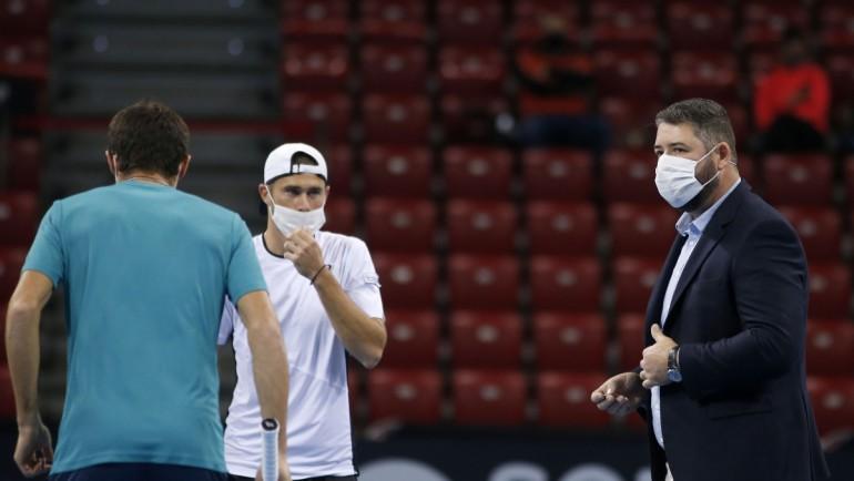 Габриел Донев взе сет, но отпадна на старта на квалификациите на Sofia Open