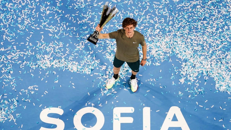 2020 Sofia Open – trophy presentation