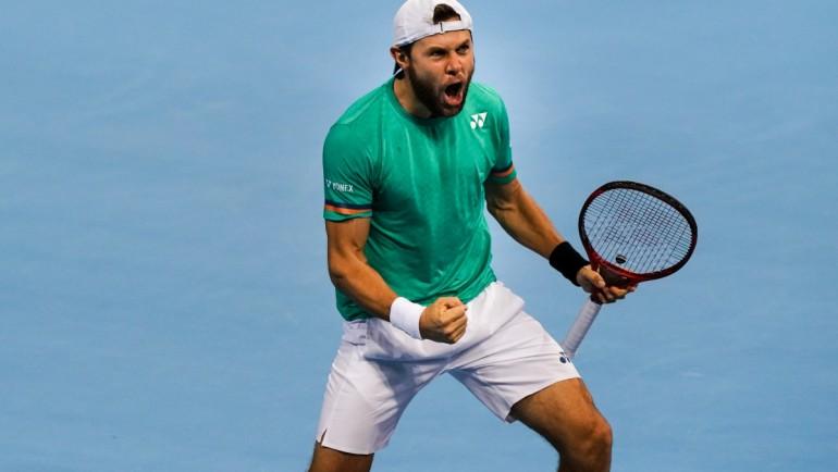 Albot shocked top seed Shapovalov at Sofia Open