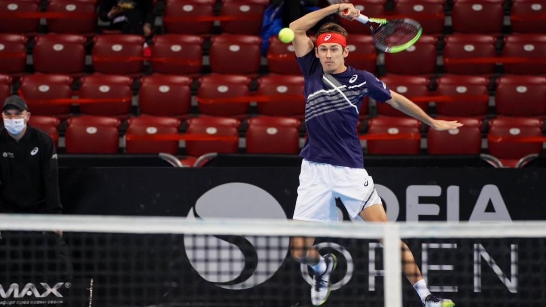 Alex de Minaur made victorious Sofia debut