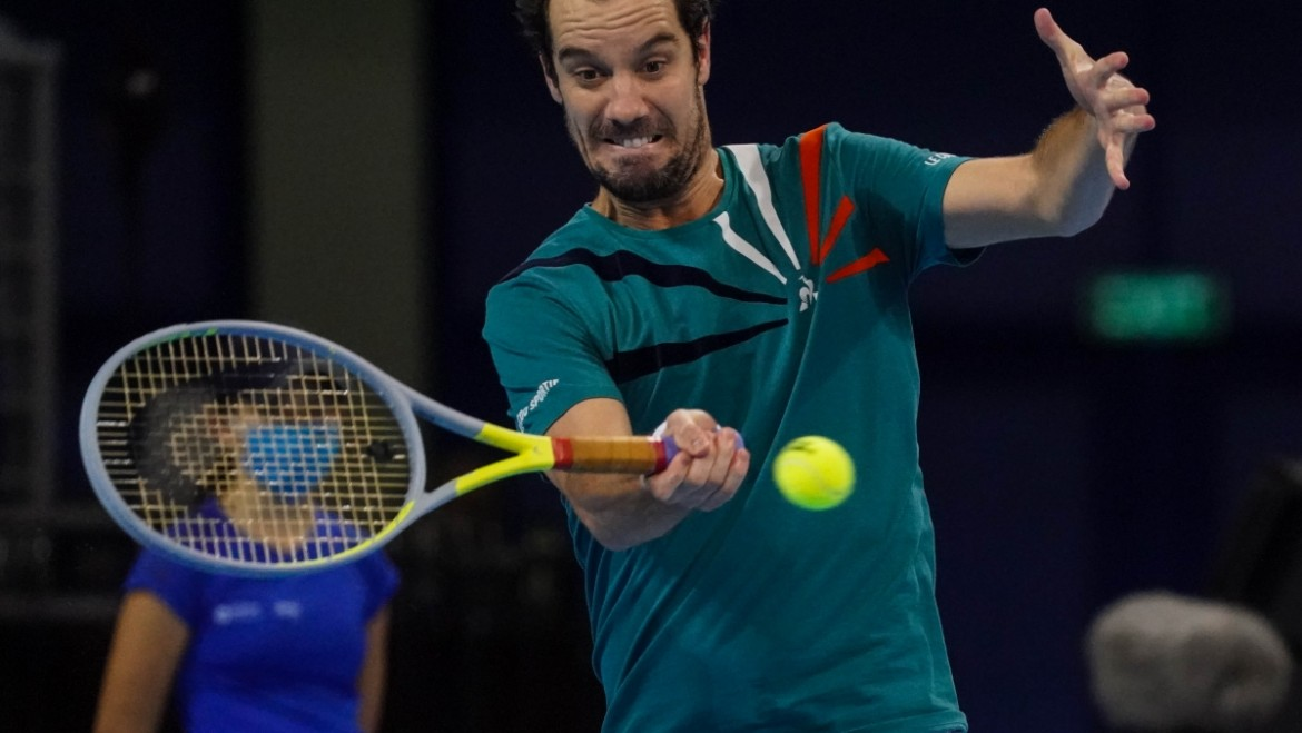 Gasquet went to the semis without losing a set