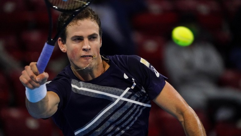 Vasek Pospisil will play Sinner at the 2020 Sofia Open final