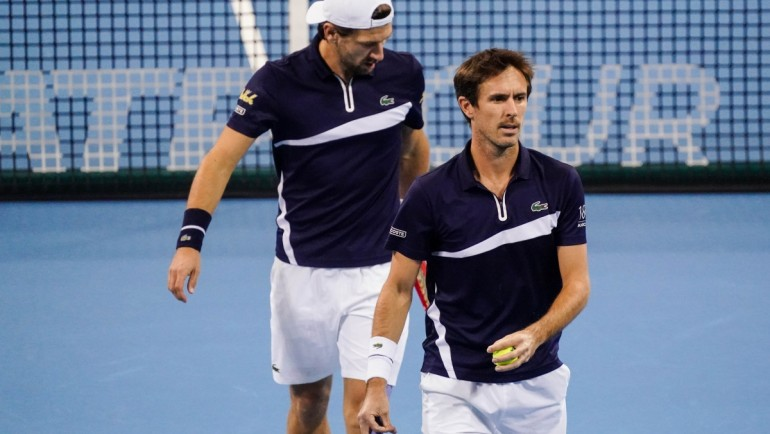Melzer / Roger-Vasselin went a step closer to London