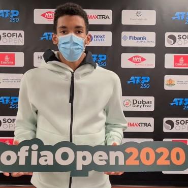 Феликс Оже-Алиасим дебютира на Sofia Open 2020 в сряда