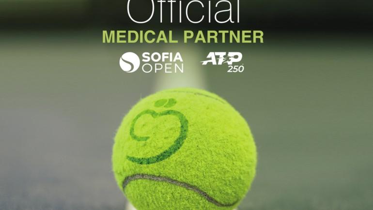 """Медицински комплекс """"Софиямед"""" – официален партньор на Sofia Open"""